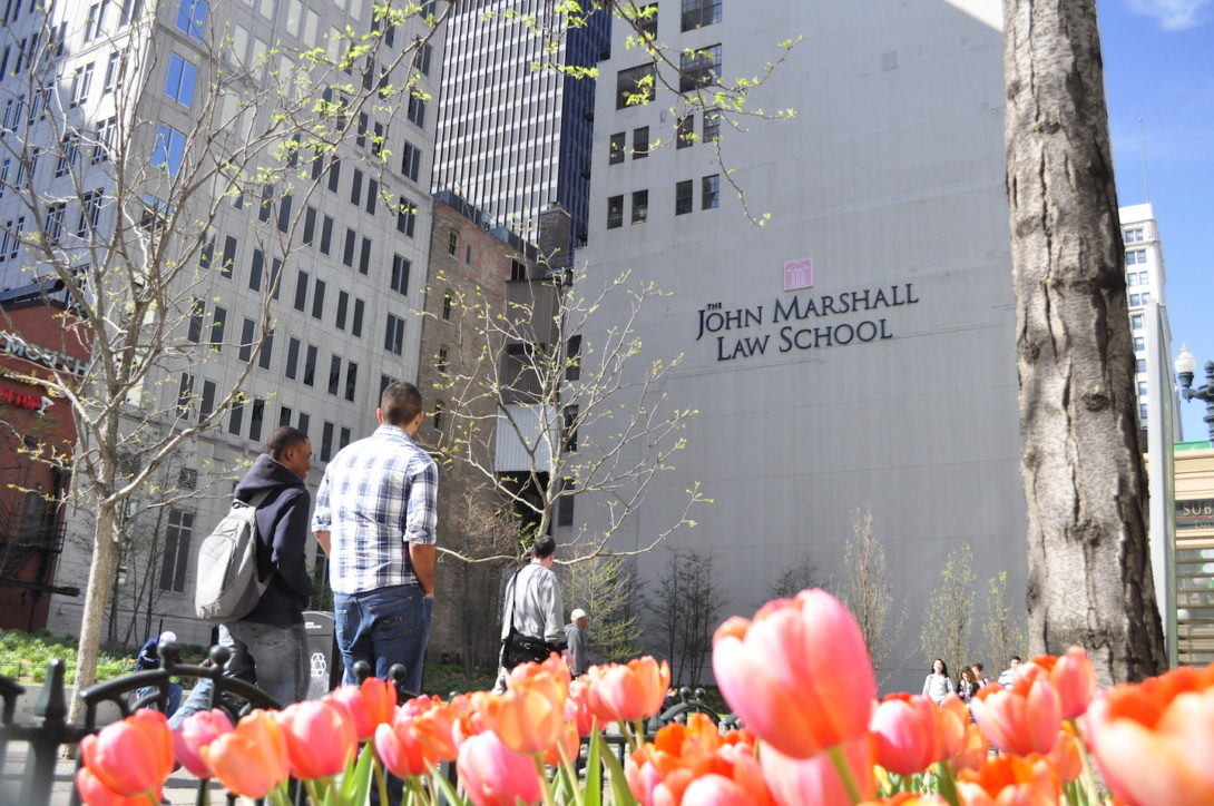 Exterior of John Marshall Law School