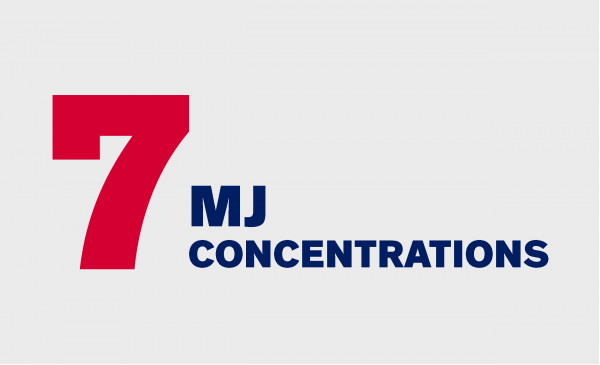 7 MJ Concentrations