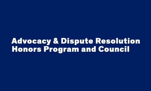 Trial Ad and Dispute Resolution Logo