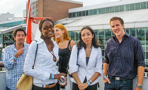 UIC John Marshall Law School International Students Interacting