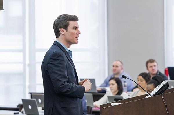 Hugh Michael Mundy, Associate Professor of Law